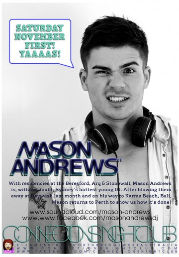 DJ Mason Andrews RETURNS!