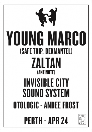 Animals Dancing: Young Marco, Zaltan, Invisible City + more