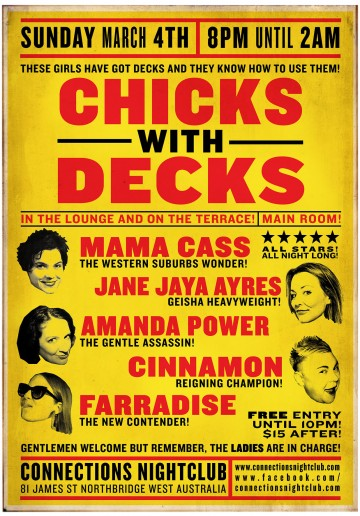 Chicks With Decks