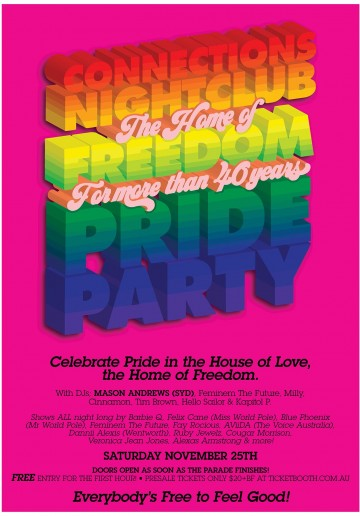 PRIDE PARTY 2017: THE HOUSE OF FREEDOM!